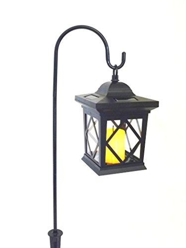 Solar Laterne Groß : led solar laterne romantica schwarz mit kerzen flackerlicht solarleuchte dekolampe rendhed ~ Watch28wear.com Haus und Dekorationen