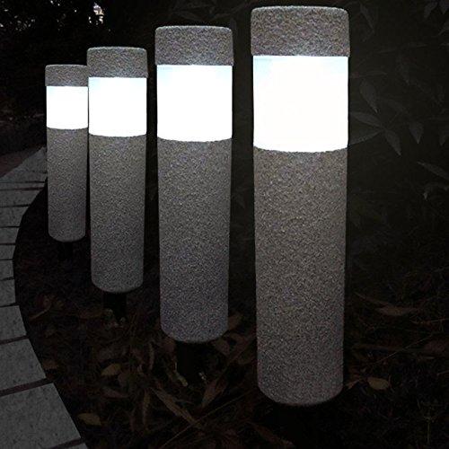 4x Solarlampe Led Lampe Leuchte Garten Gartenleuchte Solar Strahler