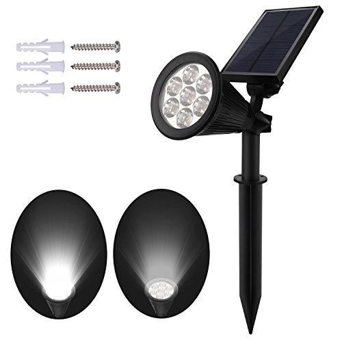 nexlook garten lichter gartenleuchten spot leuchte solarleuchte 7 led 200 lummen solar lichter. Black Bedroom Furniture Sets. Home Design Ideas