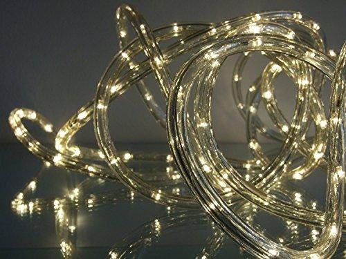 led lichtschlauch 25 m farbe warmwei innen au en von gartenpirat rendhed. Black Bedroom Furniture Sets. Home Design Ideas