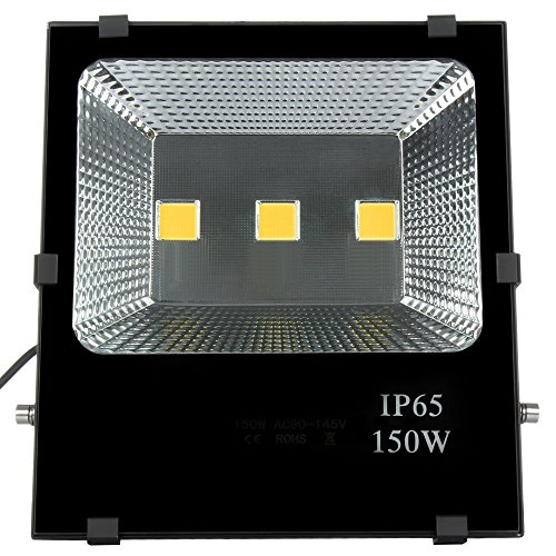 150 watt led strahler super hell 15000lm fluter. Black Bedroom Furniture Sets. Home Design Ideas