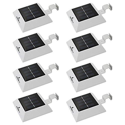 solarleuchten garten solarbeleuchtung 4 led easternstar dachrinnenleuchte zaunleuchte. Black Bedroom Furniture Sets. Home Design Ideas