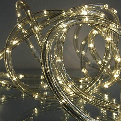 led lichtschlauch warmwei 9 m f r garten innen au en von gartenpirat rendhed. Black Bedroom Furniture Sets. Home Design Ideas