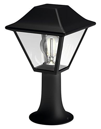 philips mygarden sockelleuchte alpenglow schwarz glasdiffusor gartenleuchte au enleuchte. Black Bedroom Furniture Sets. Home Design Ideas