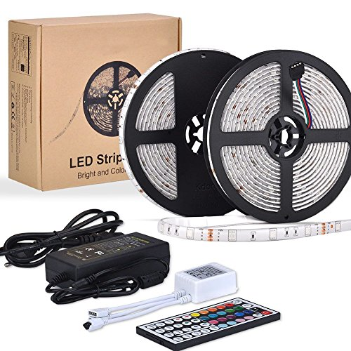 led streifen eseye 10m rgb strip 300 led 5050 smd ip65. Black Bedroom Furniture Sets. Home Design Ideas